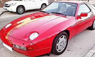 Porsche 928,V8 modelo S4. Año 1987
