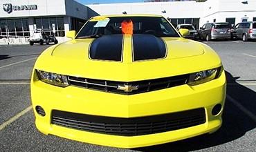 Chevrolet Camaro LS Coupé Transformers, año 2014, 33.200 €