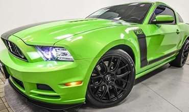 Ford Mustang Boss 302, año 2013. 54.700€