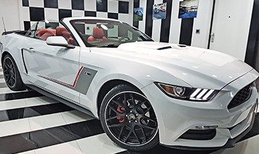 Ford Mustang Cabrio ROUSH Package, año 2015. VENDIDO