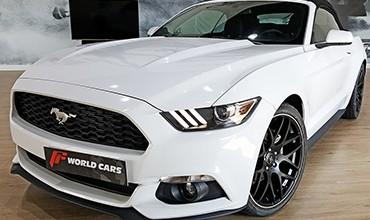 Ford Mustang Premium Cabrio, año 2016. VENDIDO