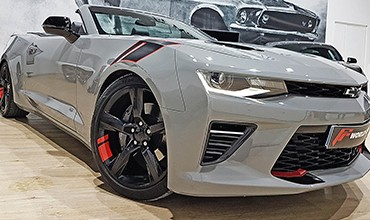 Chevrolet Camaro 2SS Red Line Descapotable, año 2017. 57.400 €. TODO INCUIDO. EN STOCK
