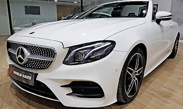 Mercedes-Benz Clase E 220 Cabrio AMG Line, año 2018. 54.900 €. TODO INCLUIDO. EN STOCK.