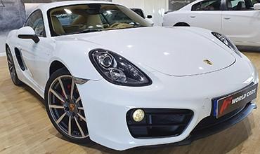 Porsche Cayman, año 2016. 49.870 € TODO INCLUIDO.