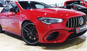 MERCEDES CLA 45 AMG S COUPÉ 4MATIC+, NUEVO MODELO 2020. 69.900 €. OFERTA TODO INCLUIDO.