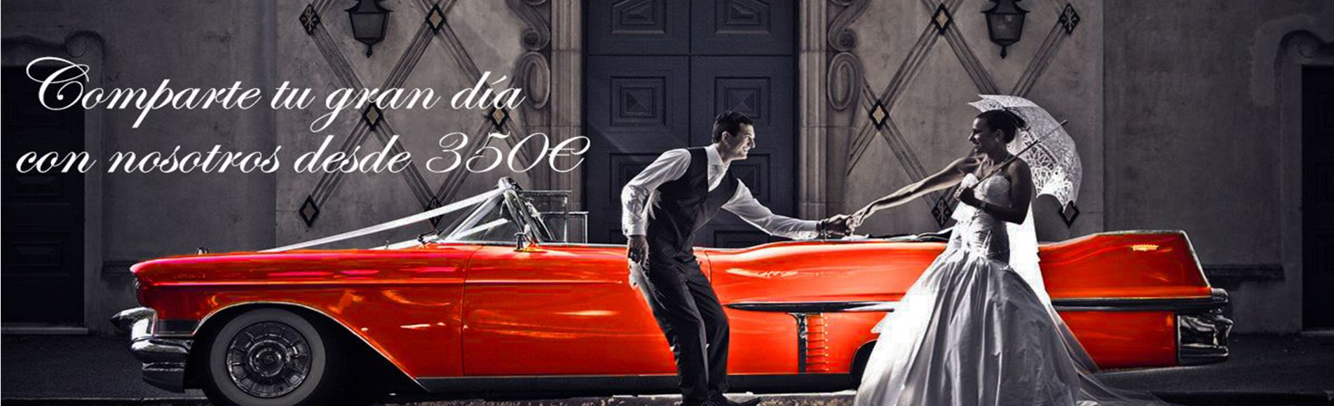 bodas y eventos coches americanos. comparte tu gran dia desde 350 €