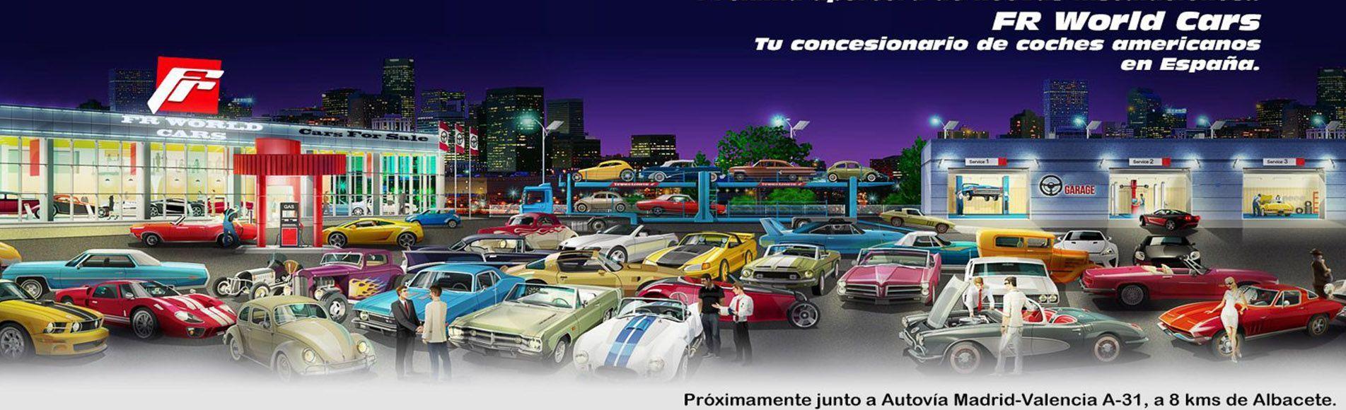 concesionario oficial de coches americanos en España, venta de vehiculos. garantia