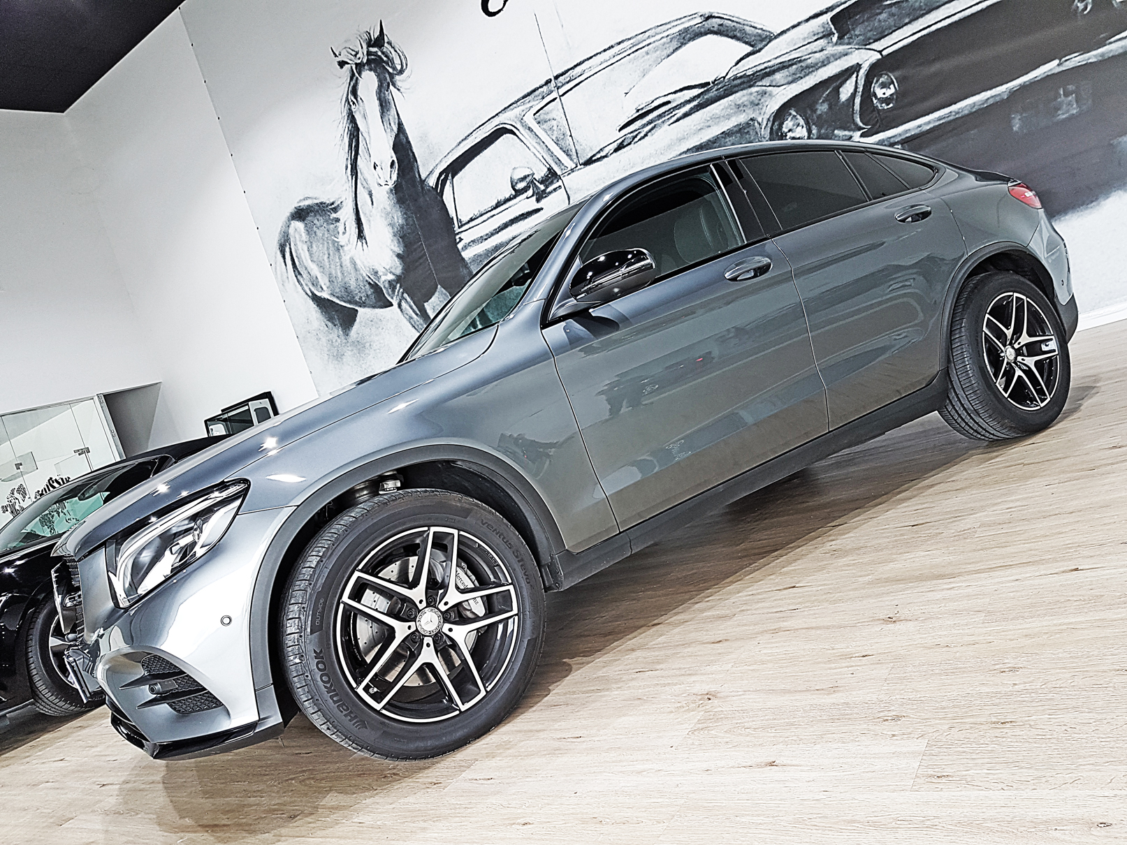 amplia selección claro y distintivo Estados Unidos Mercede-Benz GLC Coupé 250 AMG 4MATIC, año 2017. km0. 57.900 ...